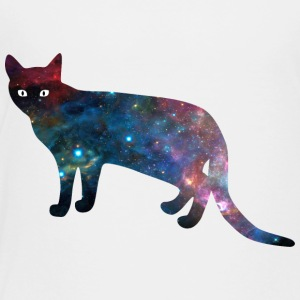 galaxy_cat_from_side - Toddler Premium T-Shirt