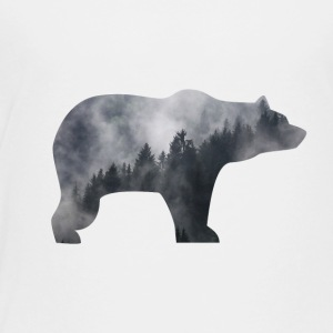 bear in smoky forest - Toddler Premium T-Shirt