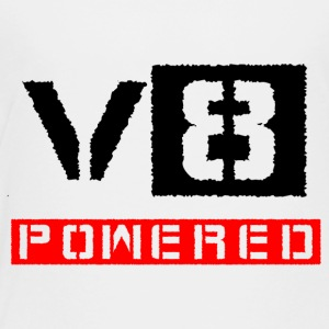 V8 powered red - Toddler Premium T-Shirt