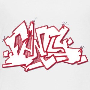 fancy_graffiti_red - Toddler Premium T-Shirt