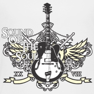 Rock is sound of the soul - Toddler Premium T-Shirt