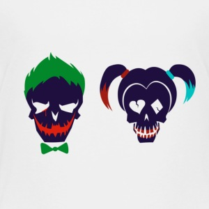 Harley quinn and Joker from suicide squad - Toddler Premium T-Shirt