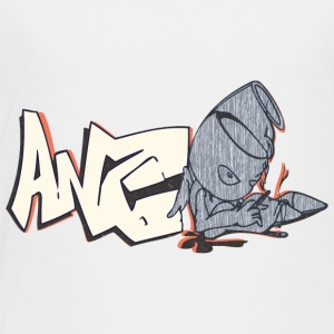 ang_graffiti_light_yellow - Toddler Premium T-Shirt