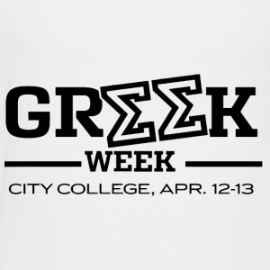 Greek Week City College - Toddler Premium T-Shirt