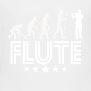 Retro Flute Evolution - Toddler Premium T-Shirt