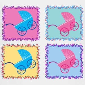 fout stamps with strollers - Toddler Premium T-Shirt