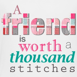 Friends Are Worth Stitches Set - Toddler Premium T-Shirt