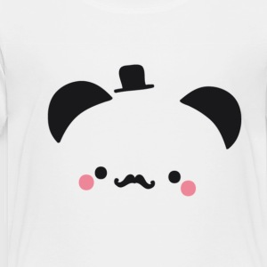 Panda Gentleman - Toddler Premium T-Shirt