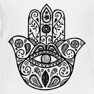 The hamsa hand - Toddler Premium T-Shirt