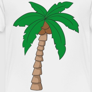 palm tree - Toddler Premium T-Shirt