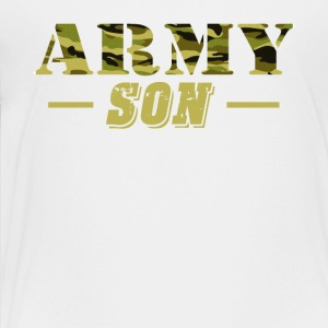 Army Son Shirt - Proud US Army Son T-Shirt - Toddler Premium T-Shirt