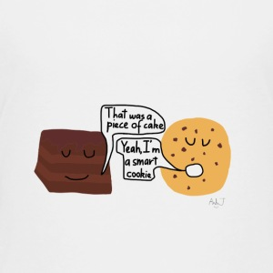 cake and cookie - Toddler Premium T-Shirt