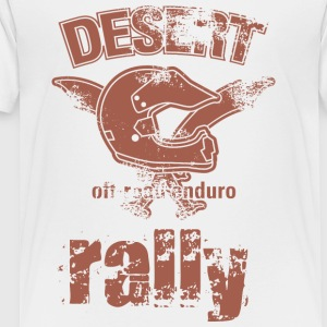 DESERT RALLY motocycle - Toddler Premium T-Shirt