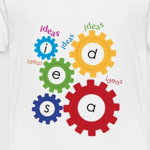 gears of ideas - Toddler Premium T-Shirt