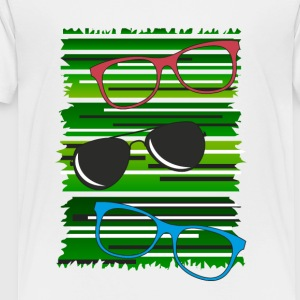 glasses - Toddler Premium T-Shirt