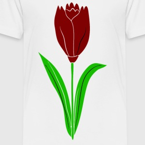 red tulip - Toddler Premium T-Shirt