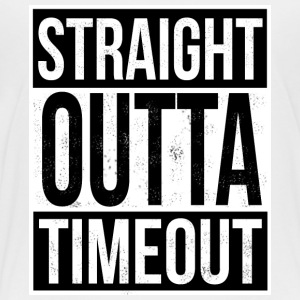 Straight Outta Timeout - Toddler Premium T-Shirt