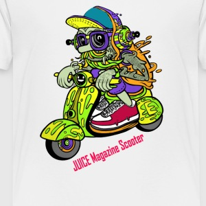 JUICE Magazine Scooter - Toddler Premium T-Shirt