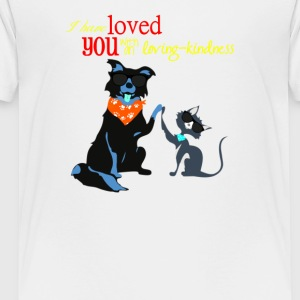 valentine i have loved you - Toddler Premium T-Shirt