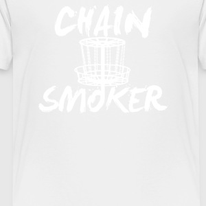 Chain Smoker Disc - Toddler Premium T-Shirt
