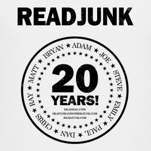 ReadJunk.com 20th Anniversary (black) - Toddler Premium T-Shirt