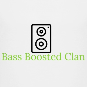 Bass Boosted Clan Brand - Toddler Premium T-Shirt