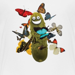 Pickle with Butterflies - Toddler Premium T-Shirt