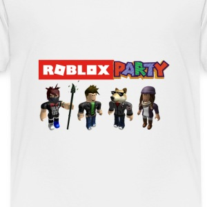 roblox party - Toddler Premium T-Shirt