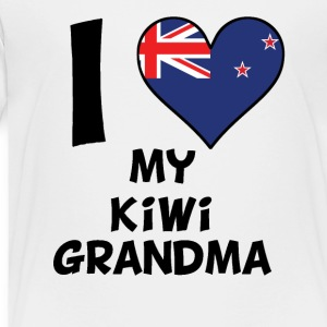 I Heart My Kiwi Grandma - Toddler Premium T-Shirt