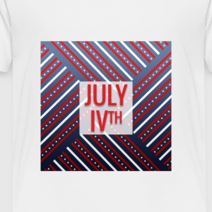 4th of July, July IVth - Toddler Premium T-Shirt