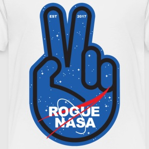 Rogue Nasa - Peace - Toddler Premium T-Shirt