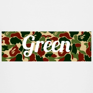 Green supreme Bape camo colorway - Toddler Premium T-Shirt