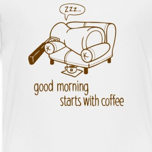 Morning coffee - Toddler Premium T-Shirt