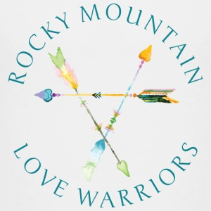 Rocky Mountain Love Warriors - Whites and Greys - Toddler Premium T-Shirt