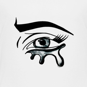 Crying Eye - Toddler Premium T-Shirt
