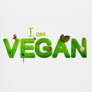I am Vegan - Toddler Premium T-Shirt