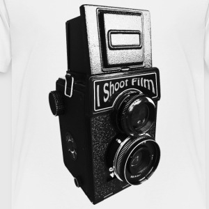 Retro Twin Lens Medium Format Film Camera - Toddler Premium T-Shirt