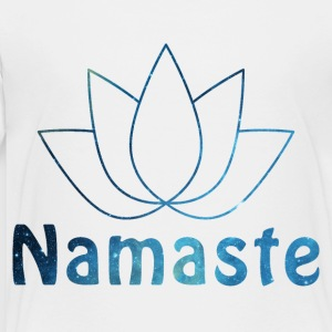 Namaste shirt design - Toddler Premium T-Shirt