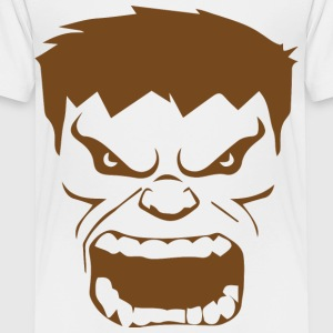 Funny Hulk face T-shirts for kids - Toddler Premium T-Shirt