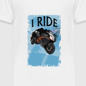 I ride design - Toddler Premium T-Shirt
