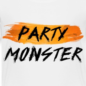 Party Monster Simple - Toddler Premium T-Shirt