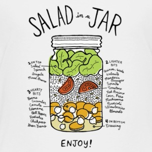 SALAD JAR - Toddler Premium T-Shirt