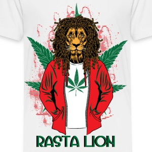 RASTA LION - Toddler Premium T-Shirt