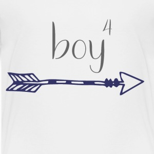 Boy#4 Arrow - Toddler Premium T-Shirt