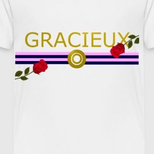 Gracieux / Graceful Fashion design - Toddler Premium T-Shirt