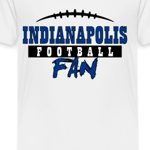 Indianapolis football fan - Toddler Premium T-Shirt