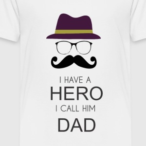 Hero Daddy - Toddler Premium T-Shirt