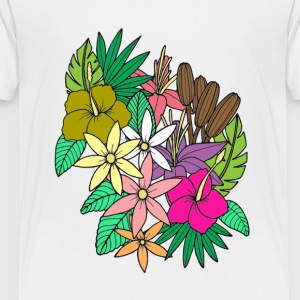 Flowers 2 - Toddler Premium T-Shirt