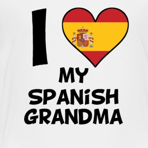 I Heart My Spanish Grandma - Toddler Premium T-Shirt