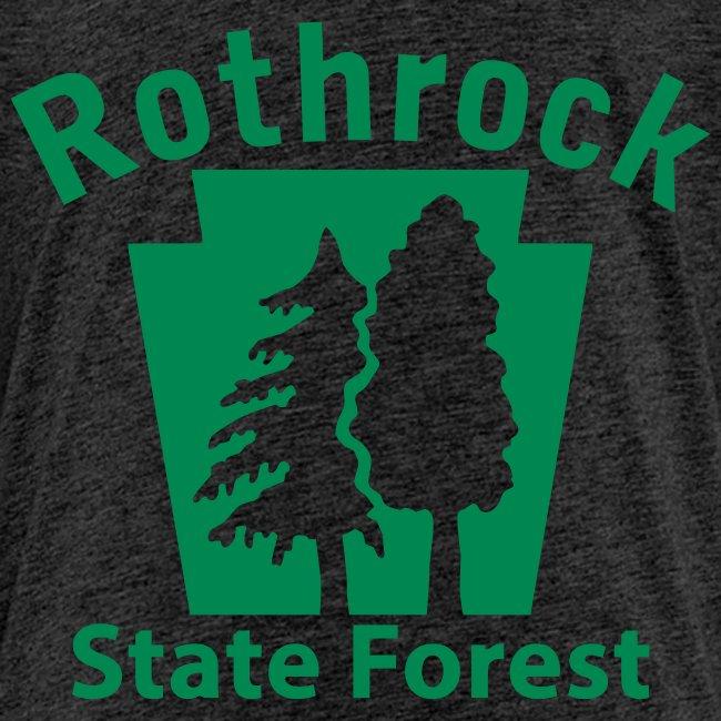 Rothrock State Forest Keystone (w/trees)